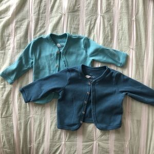 Primary Baby Snap Cardigan - Two